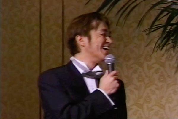 [結婚式では阿部義晴さんにスピーチを頂きました]