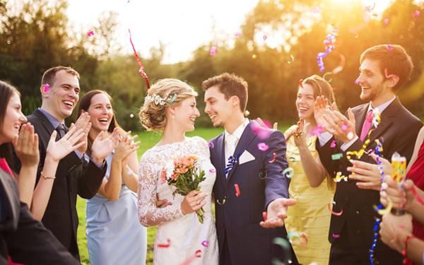 人生で1 回しかない結婚式イメージ